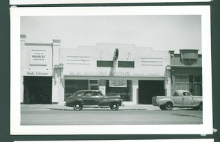 M.M. Mullins & Sons, Pulteney Street, Adelaide, 1956