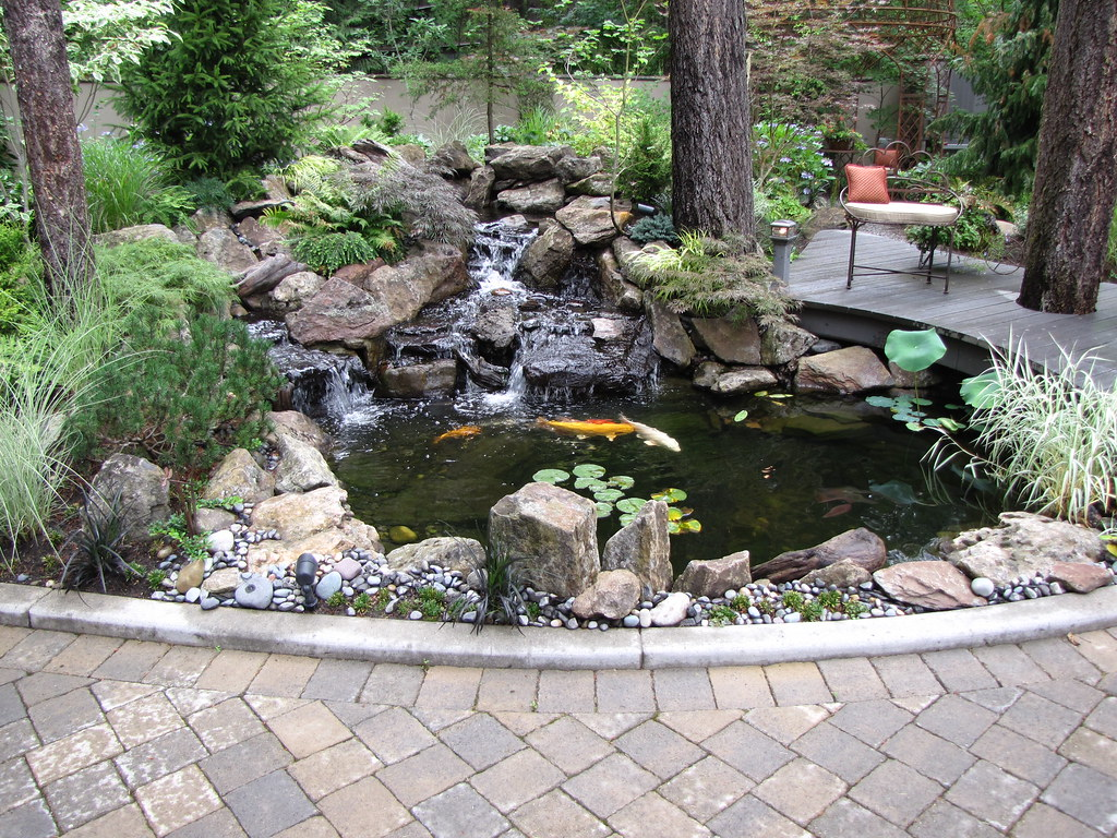 Water features for Garden pond care