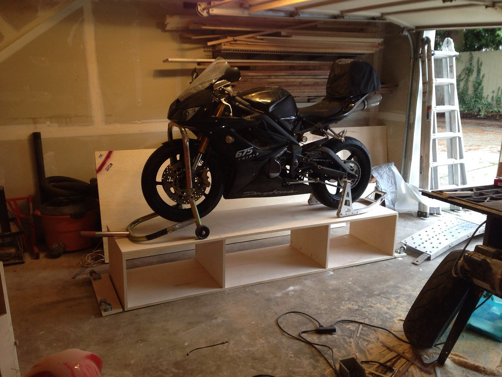 Lets see your motorcycle lifts! [Archive] - The Garage
