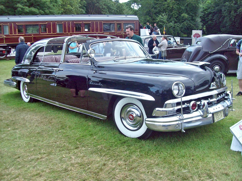 Flickr Photos Of 1950s People And Cars Picssr Lincoln 263 Cosmopolitan Bubbletop Limousine 1950