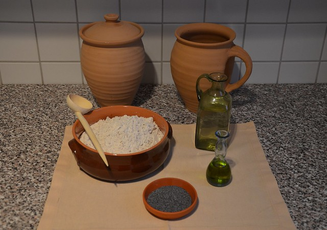 Roman Army Bread - Ingredients