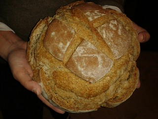 Sourdough rye bread