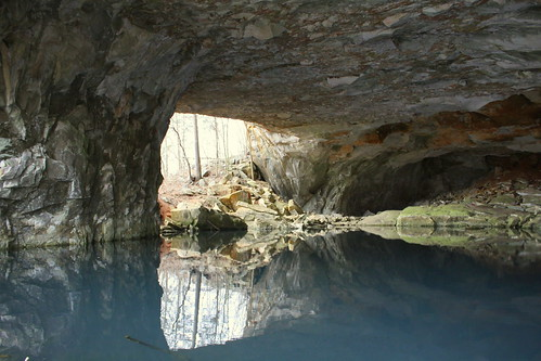 Limestone Quarry Cave & Lake #3 - Erin, TN