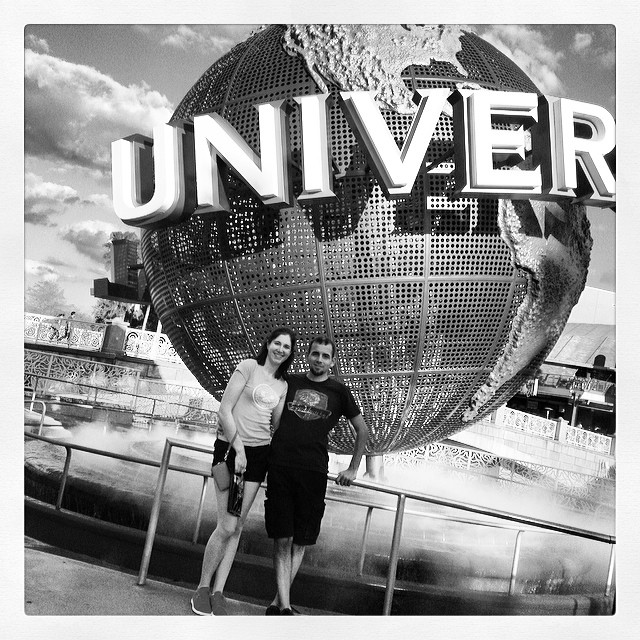 Universal globe #latergram #vacationlife #florida
