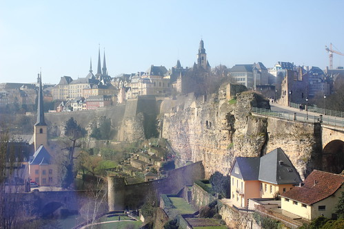 Bock & Luxembourg in sunshine