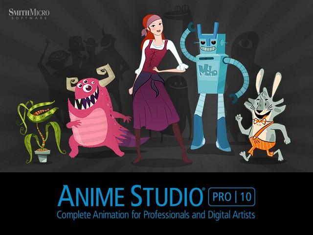 Anime Studio Pro 10 正體中文化下載