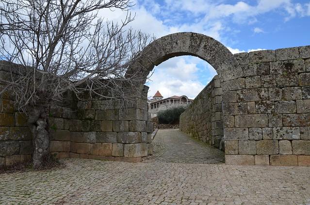 Roman arch, Egitania, Idanha-a-Velha, Lusitania, Portugal