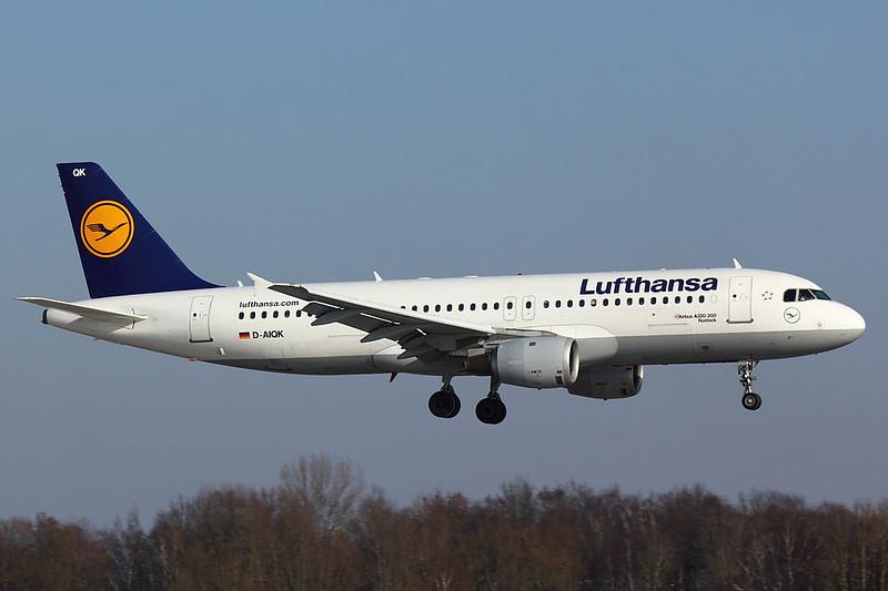 Lufthansa - A320 - D-AIQK