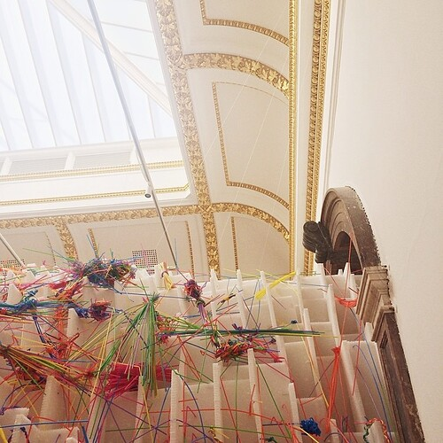 sensing spaces at the RA.