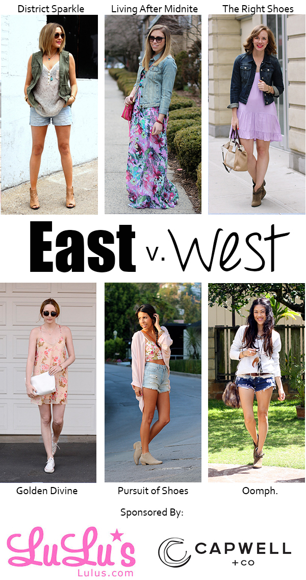 East vs. West Festival Style on Living After Midnite