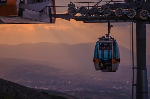 sunset sky sun clouds landscape nikon colours macedonia skopje d5100