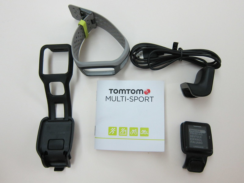 TomTom Multi-Sport GPS Watch - Box Contents