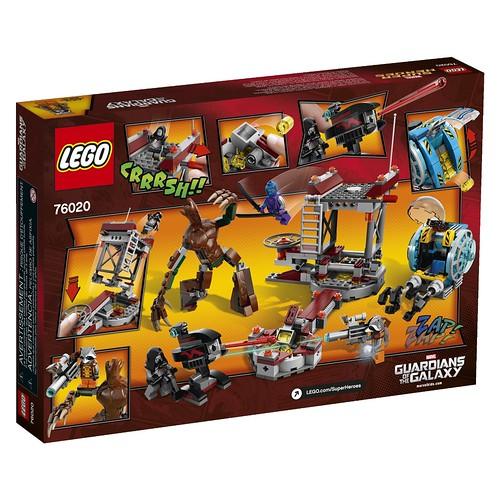LEGO Marvel 76020 Back