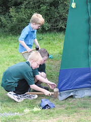 1st Finchampstead - Cub Scout Summer Camp 2010 - Chalfont Heights Scout Camp