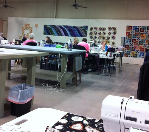 Quilt Retreat 4/2014