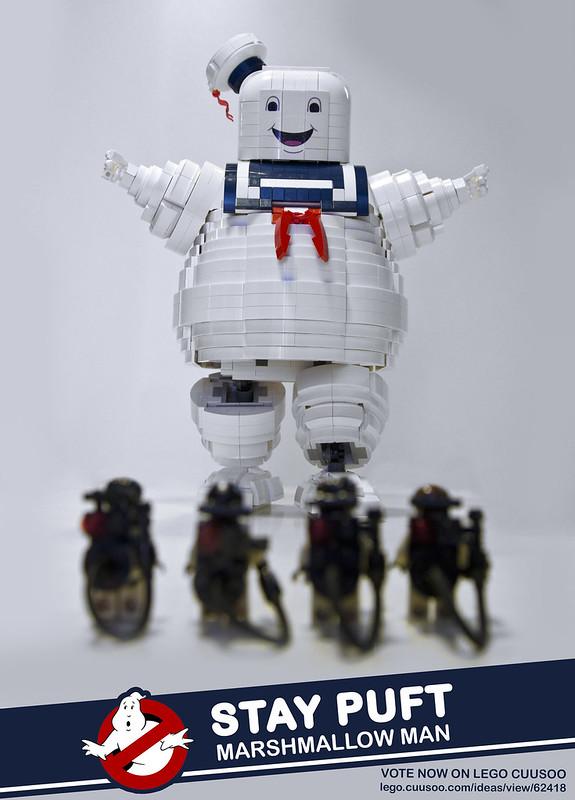 Ο Stay Puft Marshmallow Man φτάνει τους 10000 υποστηρικτές. 13903301504_ffb9a48423_c