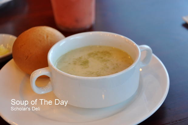 Scholar's Deli Soup of the Day
