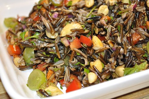wild rice salad/feature