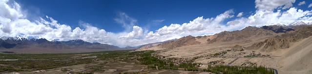 View from Shanti Stupa, Ladakh