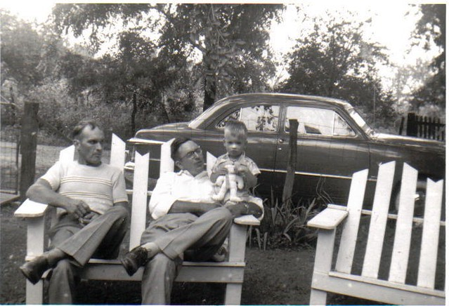 Carl, Kenneth and Paul, 1950s