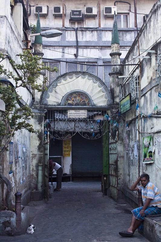 Entrance of Tipu Sultan Mosque - Kolkata, India