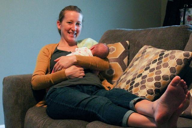 Peyton & Mommy