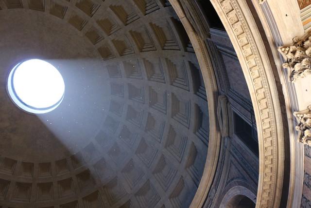 Lumière au Panthéon