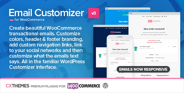 Email Customizer for WooCommerce v3.16