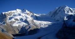 Monte Rosa - ledovcová královna švýcarských hor