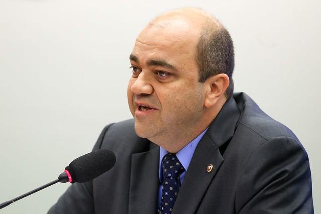 Ronaldo Fleury em reunião da Comissão Especial da Reforma Trabalhista, em fevereiro deste ano - Créditos: Marcelo Camargo/Agência Brasil