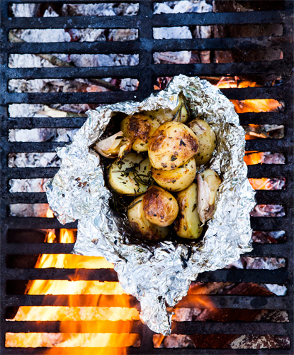Outside Or BBQ - Magazine cover