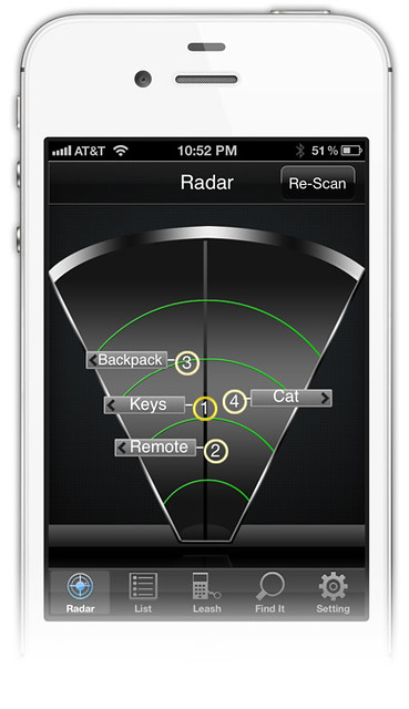 iphone radar のコピー
