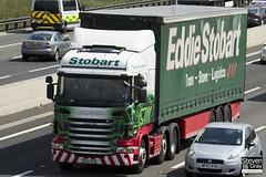 Scania R440 6x2 Tractor - PO12 ZPB - Arianna Elise - Eddie Stobart - M1 J10 Luton - Steven Gray - IMG_9591