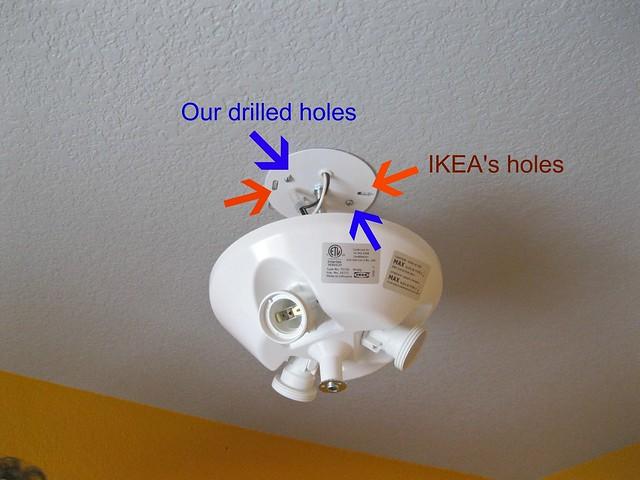 pesty IKEA cloud light