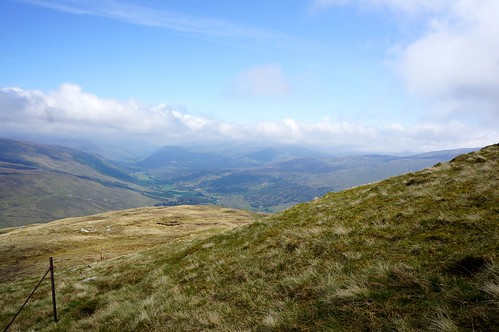 Looking East down Glen Lyon