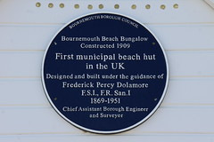 Photo of Frederick Percy Dolamore blue plaque