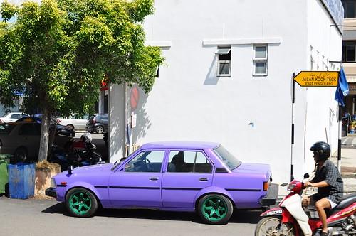 colourful cab
