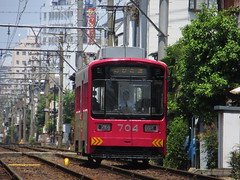 Hankai Tramway 704 (May 2013)