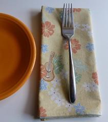 Hawaiian linen napkins
