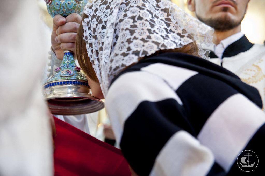22 июня 2013, Божественная литургия и закладка храма в Константино-Елененском женском монастыре