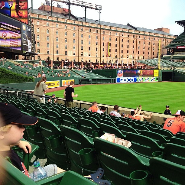 Will at batting practice...let's go O's!!! #masnorioles, #orioles, #macefamilysummer