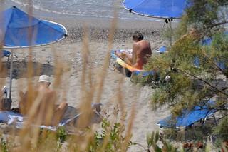 Image de Souda Beach. summer beach crete plakias damnoni