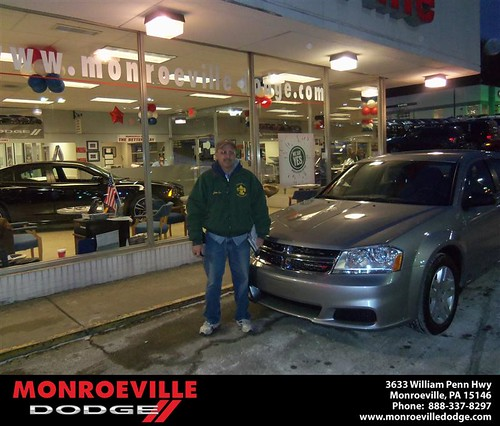 Monroeville Dodge would like to say Happy Birthday to Daniel Bost! by Monroeville Dodge
