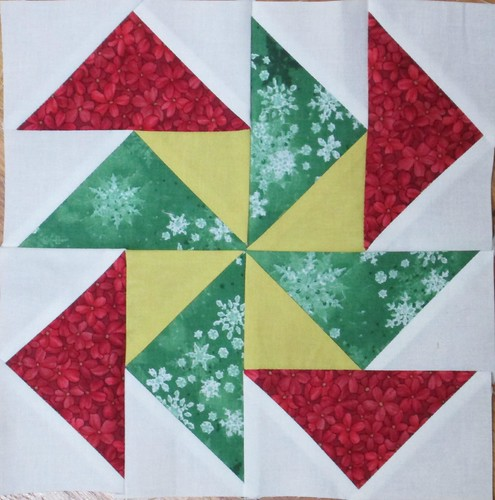 Jingle - Pieced Block 4