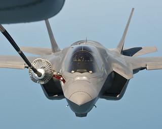 Lockheed Martin Photo of F-35 refueling