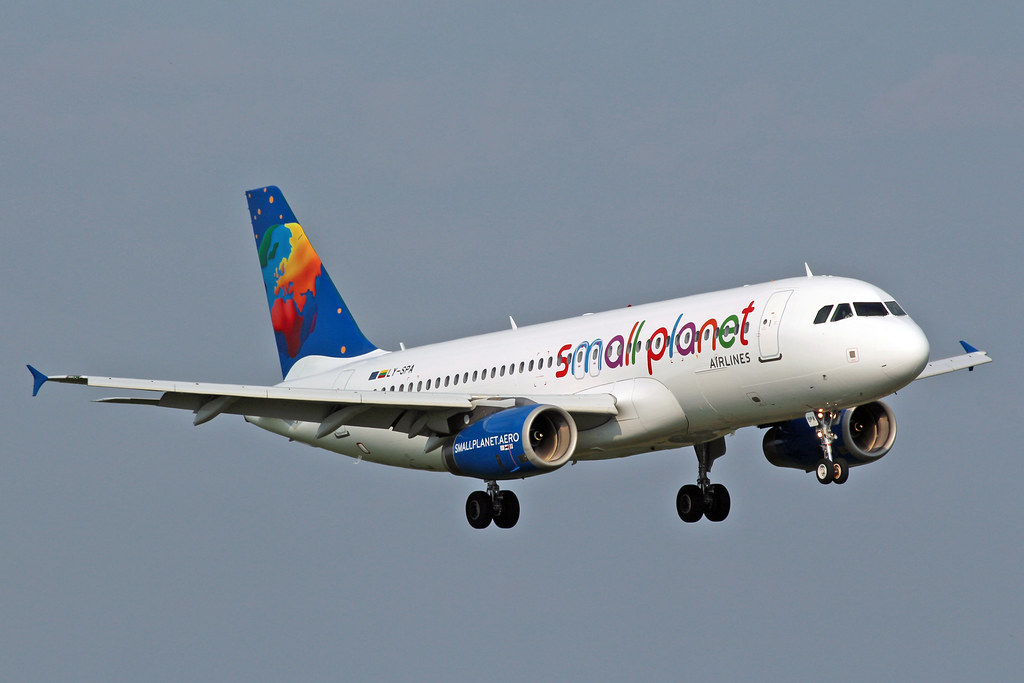 LY-SPA - A320 - Small Planet Airlines