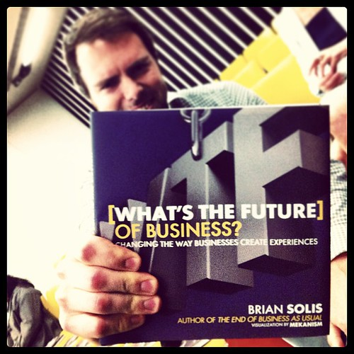 I have found it! The Future of business is here! @simonjhughes #b2bhuddle by Bernie J Mitchell