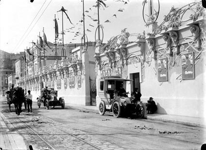 Exposition des canots autos, Monaco, avril 1905