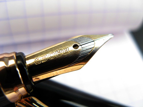 Baoer 507 Eight Horses Custom Italic Nib