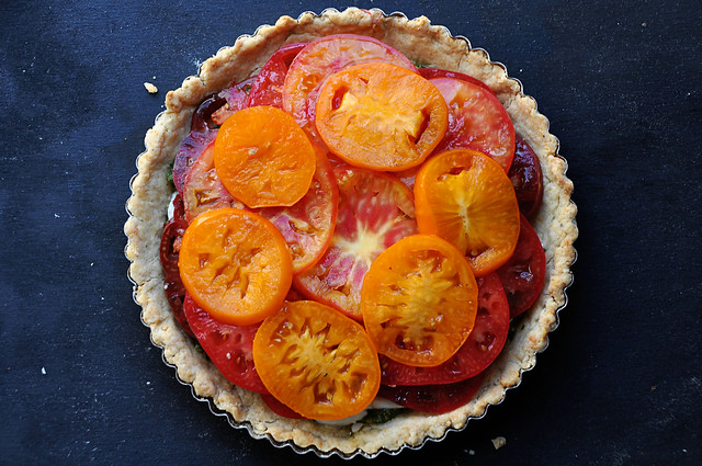 Heirloom Tomato Tart 6